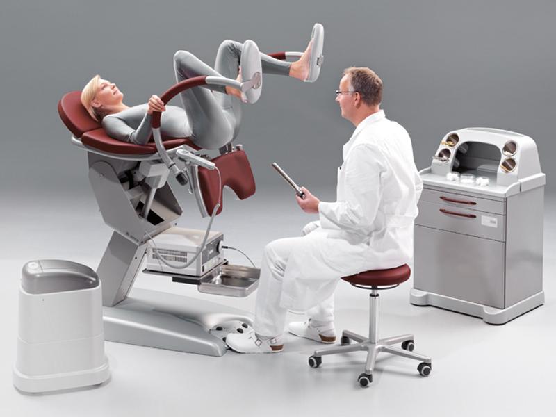 женщины на гинекологическом стуле - 7
