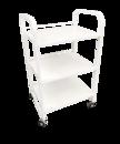 Стол-тележка косметолога К-3 белая