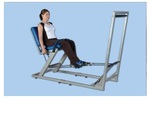 Реабилитационный тренажер для ног (реабилитация после инсульта) Hercules - механо-терапевтический