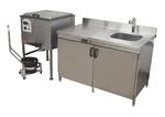 Кухня для подготовки лечебной грязи ГК-1-60