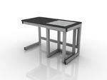 Стол лабораторный весовой 201-001-5-750/850