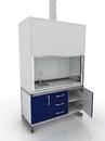 Шкаф вытяжной лабораторный, химически стойкий 205-002-1-2000/2100