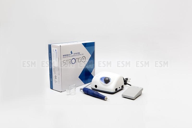 Аппарат для маникюра и педикюра Strong 210/105L (с педалью в коробке)