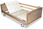 Медицинская кровать Alli-2 для ухода за крупными пациентами