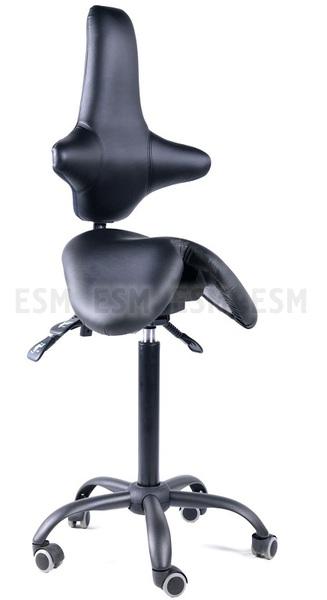 Стул-седло со спинкой EZSolo Back
