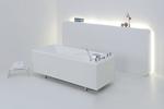 Медицинская гидромассажная ванна LUXURY Модель 1.5-1F вихревая