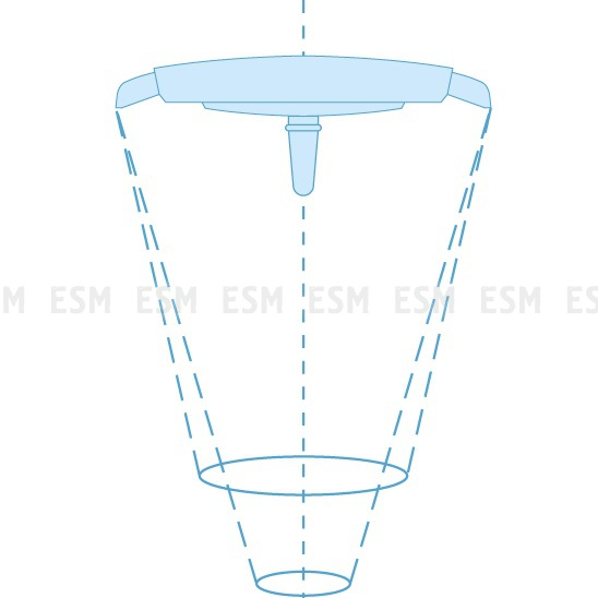 Напольный светильник медицинский ЭМАЛЕД 300-01П