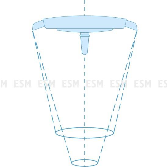 Светильник операционный потолочный ЭМАЛЕД 500/300/X