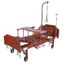 Кровать механическая YG-5 (ММ-5124Н-01) с боковым переворачиванием, туалетным устройством и функцией «кардиокресло»
