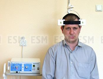 Аппарат ТРАНСКРАНИО динамической сочетанной магнито-лазерной терапии
