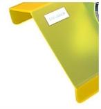 Удобная форма корпуса в виде домика, настольные пылесосы Ультратек