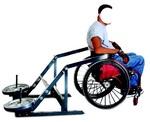 Силовой тренажер Hercules жим вниз для инвалидов-колясочников