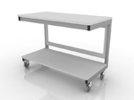 Стол лабораторный мобильный для аппаратуры 202-002-1-750/850