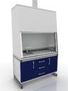 Шкаф вытяжной лабораторный 205-001-1-2000/2100
