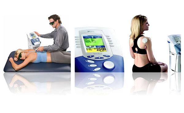 Пример использования аппаратов для комбинированной терапии Intelect Advacned Combo